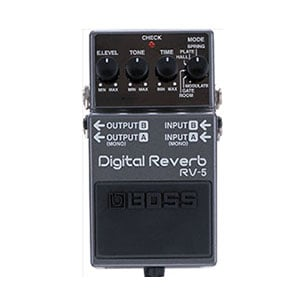 Boss RV5 Digital Reverb – Quality From a Simple Design